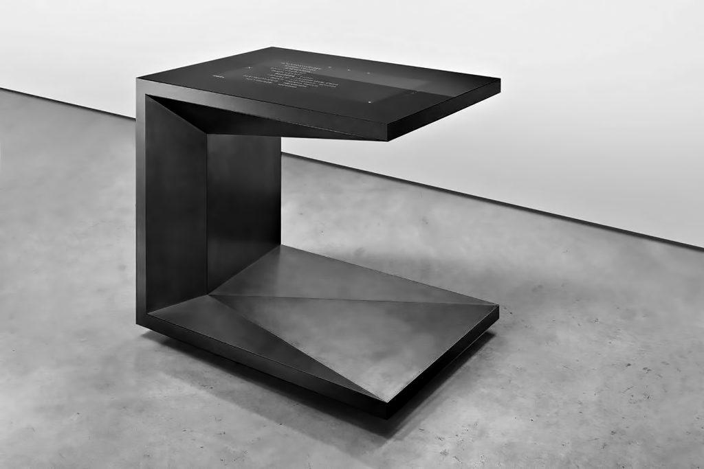 FOLD Iconic Origami Kitchen Block Design - Martin Steininger - M-POD Black