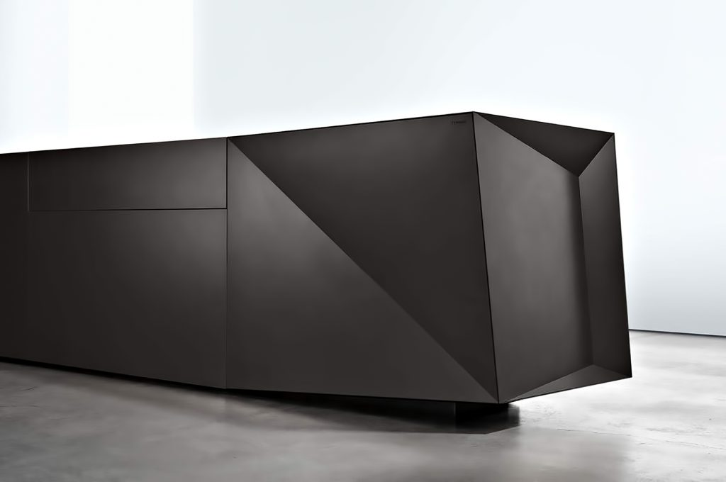 FOLD Iconic Origami Kitchen Block Design - Martin Steininger - Formidable Black