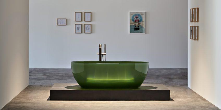 REFLEX Cristalmood Transparent Bathtub AL Studio - Antonio Lupi - Bottiglia
