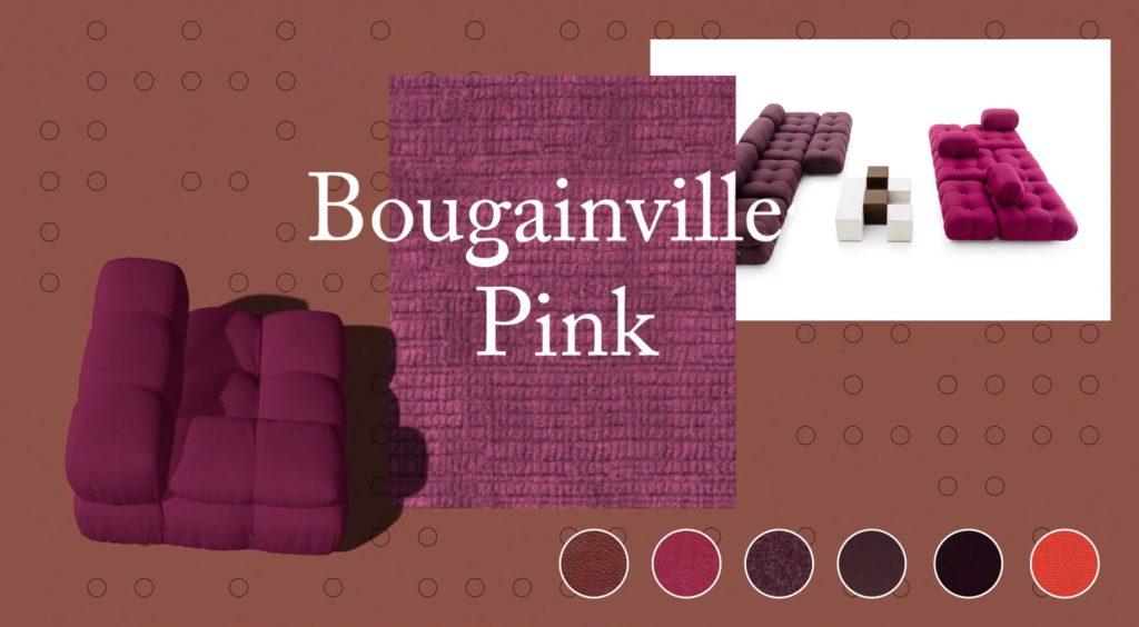 Camaleonda Classic Sofa Collection B&B Italia - Mario Bellini - Bougainville Pink
