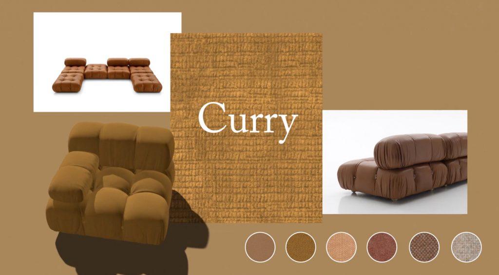 Camaleonda Classic Sofa Collection B&B Italia - Mario Bellini - Curry