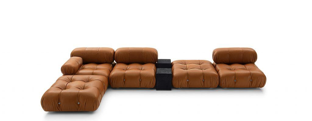 Camaleonda Classic Sofa Collection B&B Italia - Mario Bellini - Brown