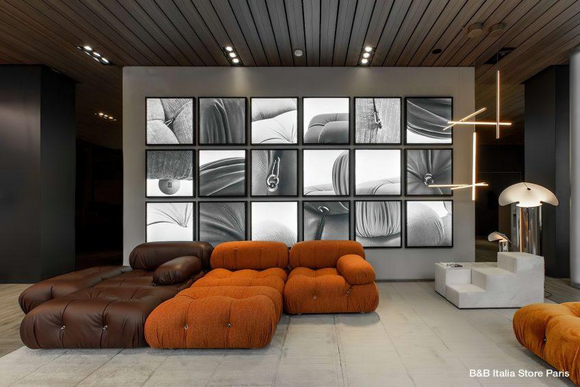 Camaleonda Classic Sofa Collection B&B Italia - Mario Bellini - B&B Italia Store Paris