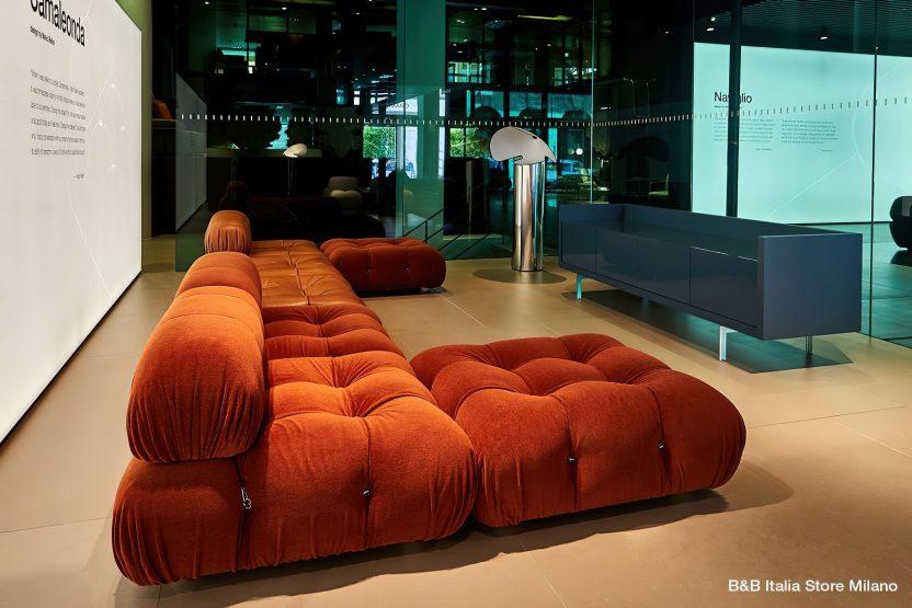Camaleonda Classic Sofa Collection B&B Italia - Mario Bellini - B&B Italia Store Milano