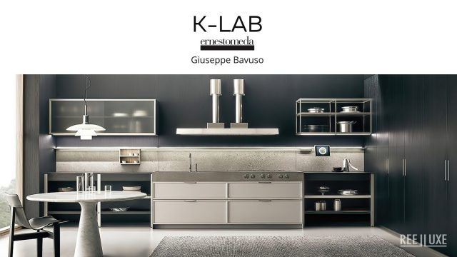K-lab Contemporary Kitchen Ernestomeda Italy - Giuseppe Bavuso
