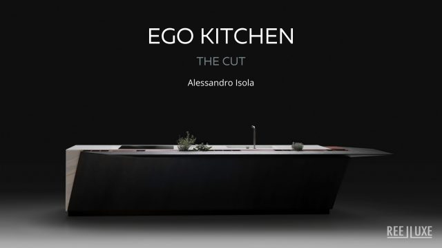 EGO Kitchen The Cut by Record è Cucine Milan, Italy - Alessandro Isola