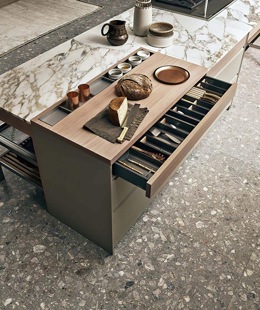 K-lab Contemporary Kitchen Ernestomeda Italy - Giuseppe Bavuso - Cook Chopping Board