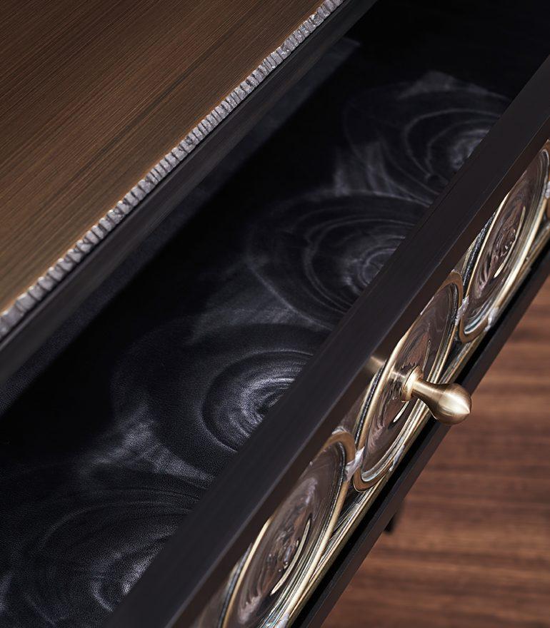 RONDELLE Craftmark Luxury Furniture Collection - John Pomp - Rondelle Side Table