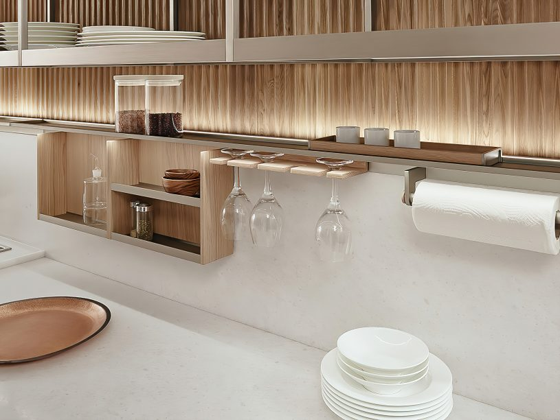 K-lab Contemporary Kitchen Ernestomeda Italy - Giuseppe Bavuso - Order Shelf