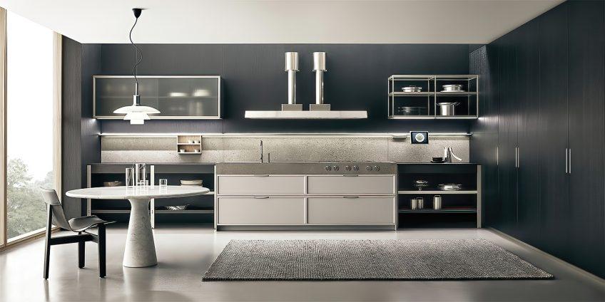 K-lab Contemporary Kitchen Ernestomeda Italy - Giuseppe Bavuso - K-lab Italian Designer Kitchen